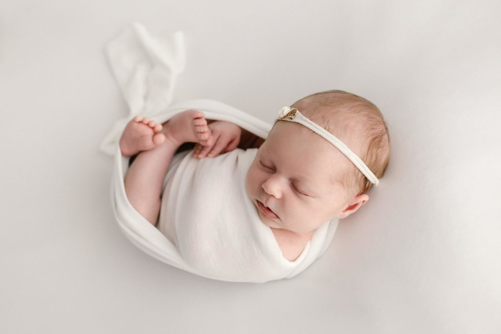 Mini Wrapped Newborn Session